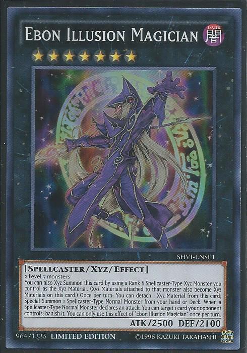 Ebon Illusion Magician Super
