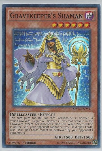 Gravekeeper's Shaman Super 1st